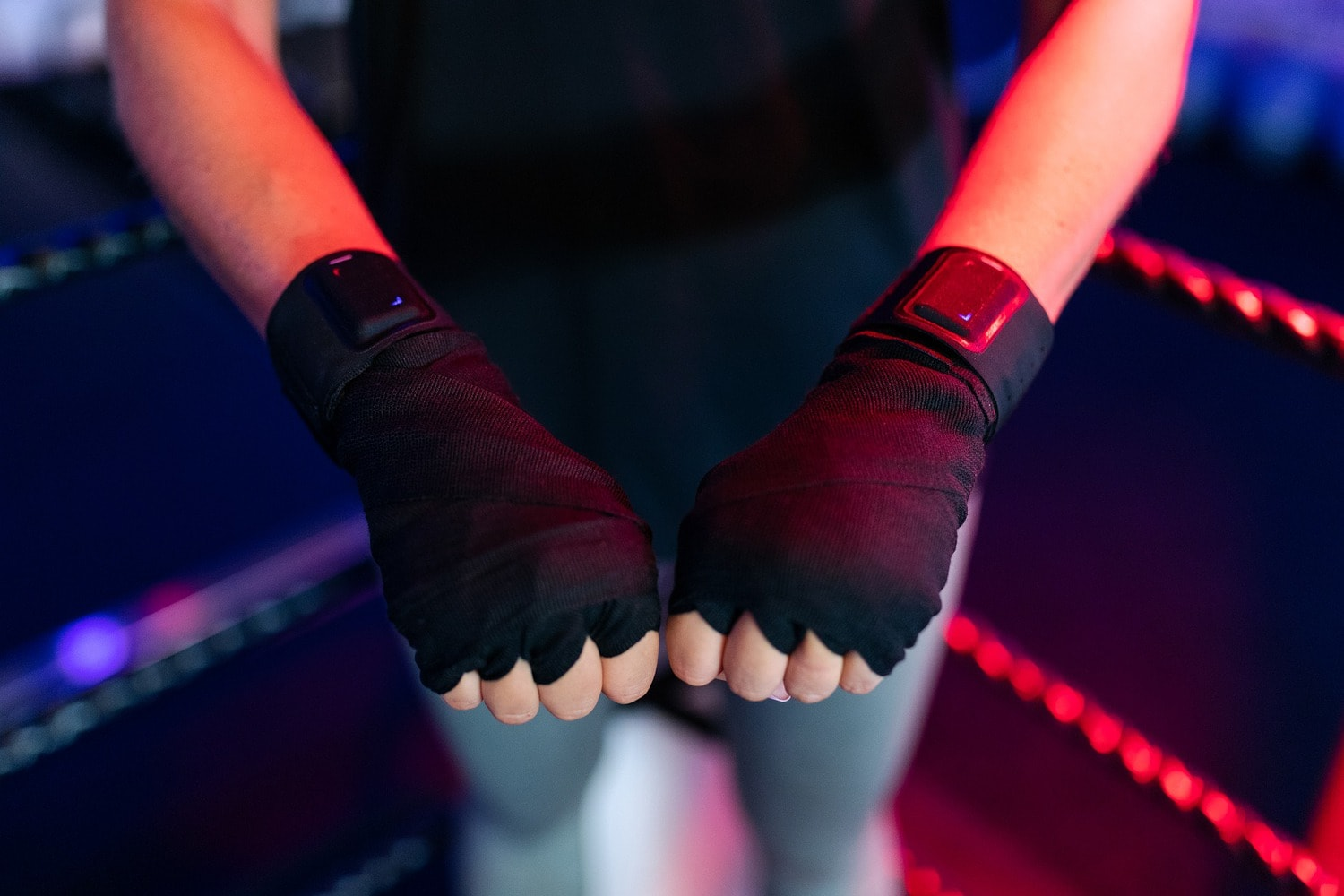 Female boxer fists