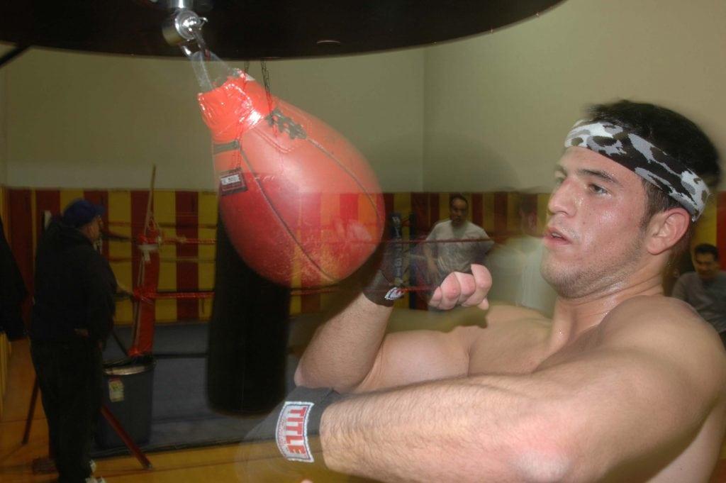 speedbag punch training